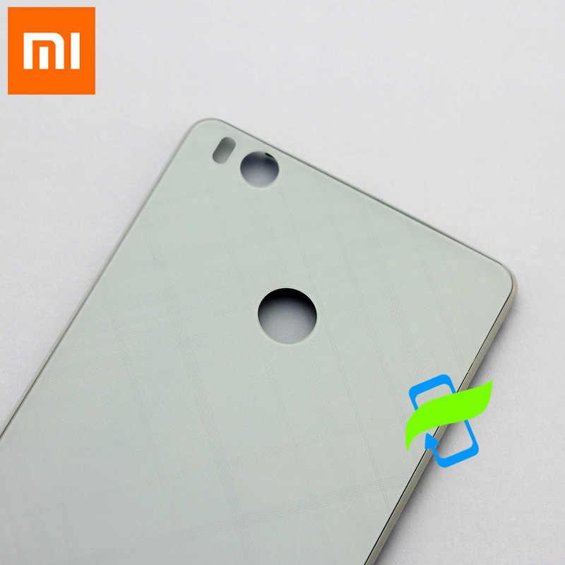 Новинка для Xiao mi 4S задняя крышка батарейного отсека задняя крышка корпуса чехол для Xiaomi mi 4S задняя крышка задней двери Замена