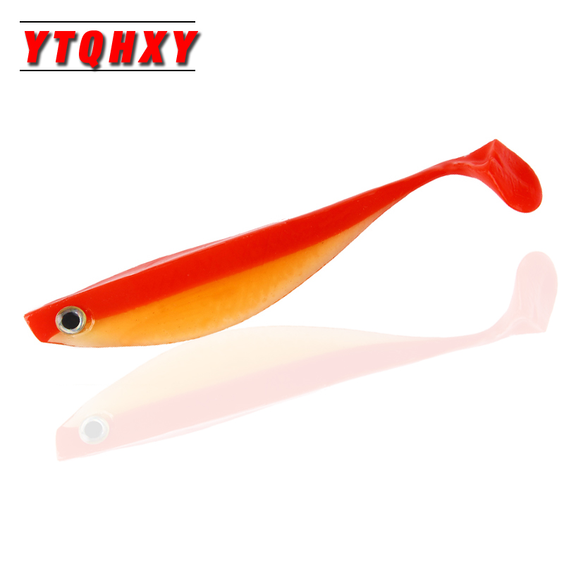 2pcs/lot Fishing Lure Pesca Shad Soft Bait 3D Eyes Artificial 15cm 10g Saltwater Silicone Soft Lure Sea Fishing Tackle WQ427 fishing lure soft bait bugsy shad 2 8 swimbait iscas artificiais pesca 10pcs 7cm 2 5g silicone bait carp fishing tackles trout