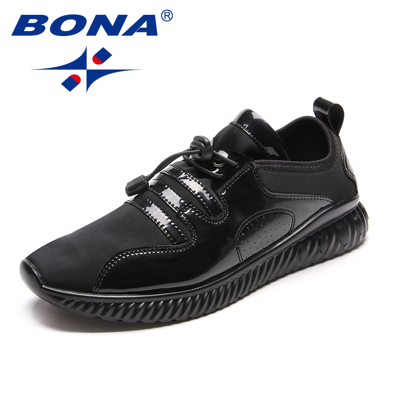 BONA New Arrival Classics Style Men Running Shoes Outdoor Jogging Sneakers Lace Up Men Sport Shoes