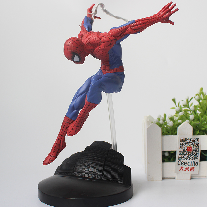 amazing toys Spiderman Toys Superhero The Amazing Spider-man PVC Action Figure Collectible Model Toy 20CM