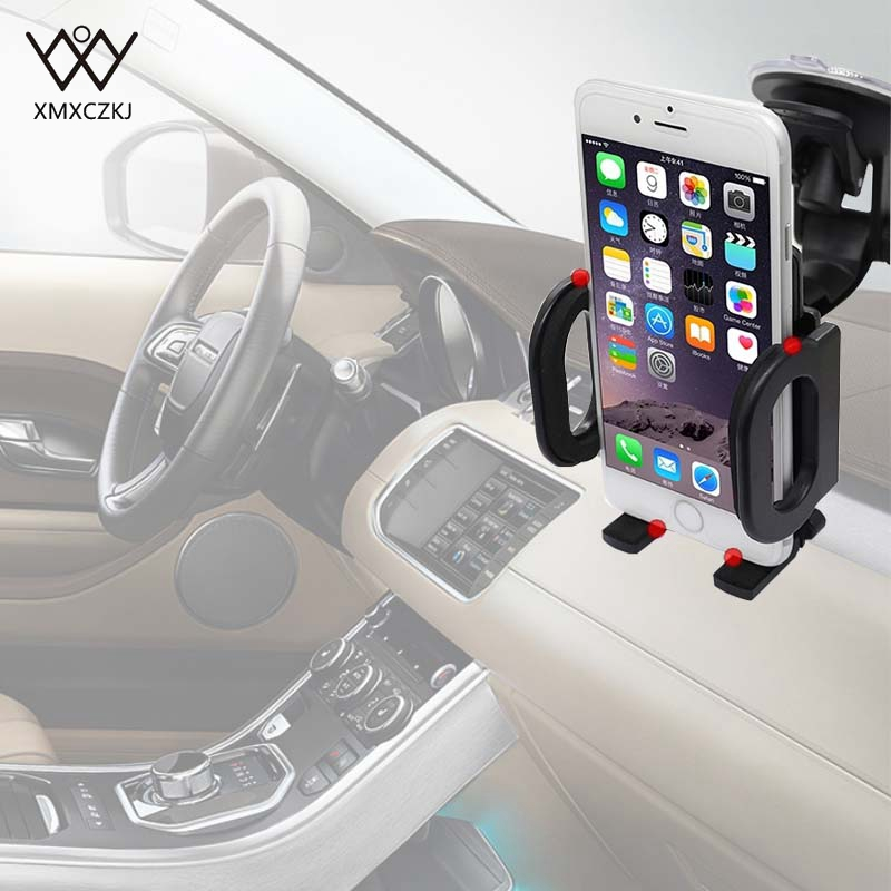 XMXCZKJ Car Phone Holder Rotatable Gravity Stand In The Car Suction Cup Support Holder For iPhone 7 X Mobile Phone Accessories