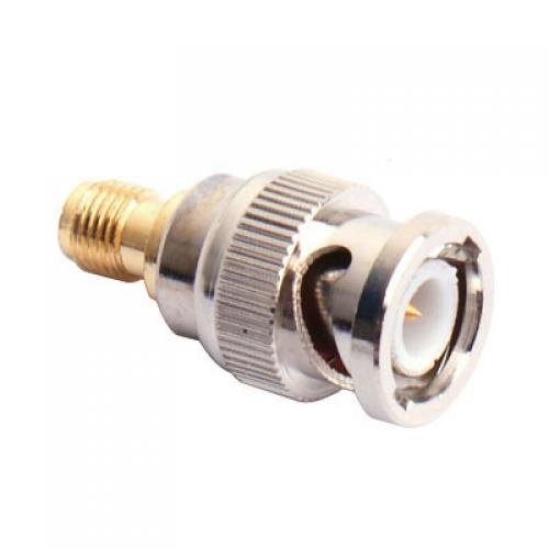 10x New BNC Male to SMA Female Plug Coax Adapter bnc м клемма каркам