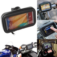 Waterproof Motorcycle Bicycle Bike Phone Mount Holder Universal Motorbike Cycling Bag Case for 3.5 4.3 5 inches GPS Devices