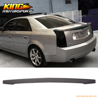 For 03 07 CTS 4Dr Trunk Spoiler Painted # WA911L Dark Tarnished Silver Metallic