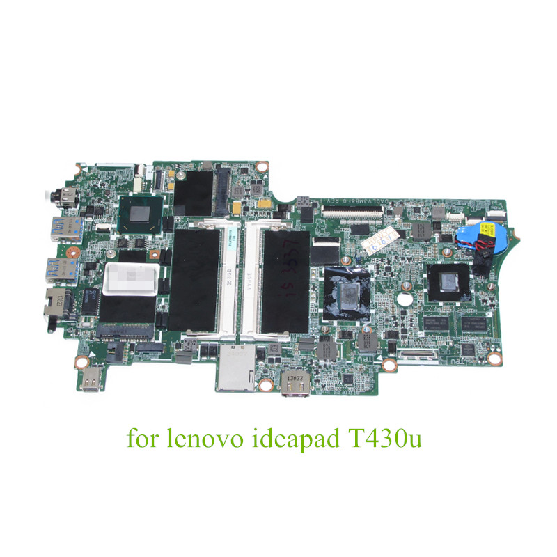 NOKOTION FRU 04Y1377 DA0LV3MB8F0 Main board for <font><b>lenovo</b></font> ideapad <font><b>T430U</b></font> 14'' laptop motherboard i5-3337U GeForce GT620M DDR3 image