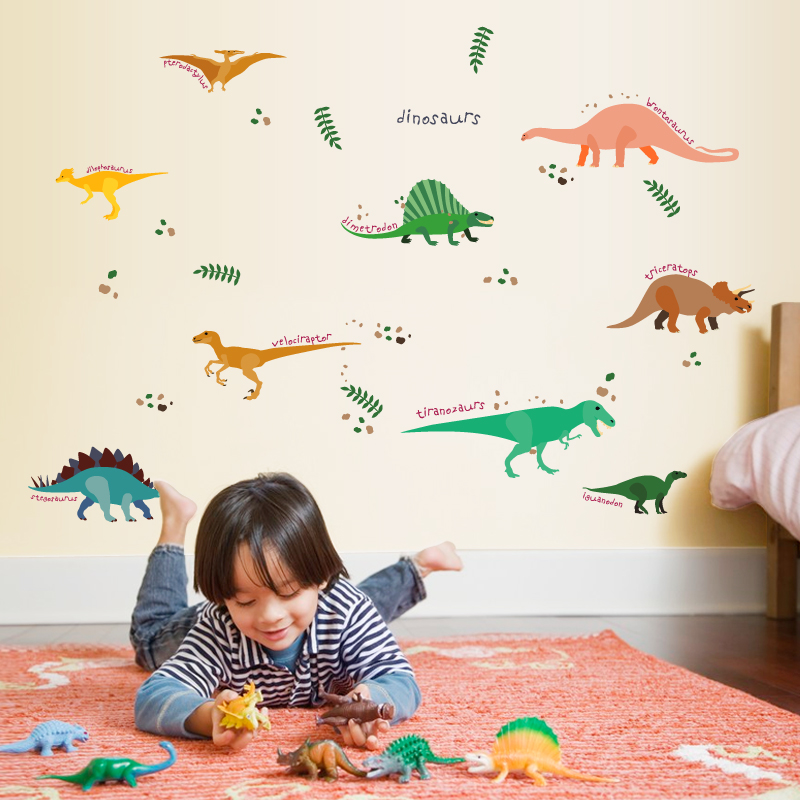 dinos-wall-sticker-dinosaurs-home-decor-for-kids-room-wall-sticker-zooyoo (2)