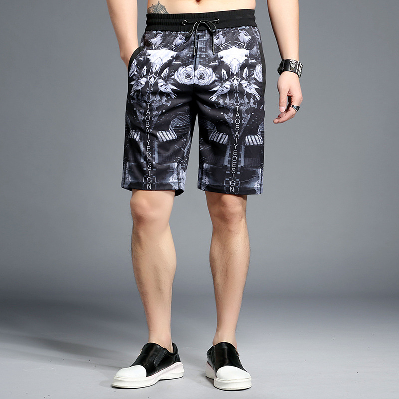 94f53ea850 2018 Solid Men's Shorts 4XL Summer Mens Beach Shorts Cotton Casual Male  Shorts homme Brand Clothing print straight plus size ~ Perfect Sale July  2019