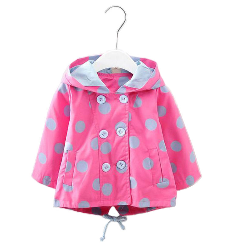 1adb07e59a95 2017 Trench Coat for girls New Baby Girl Trench Coats Children Long ...