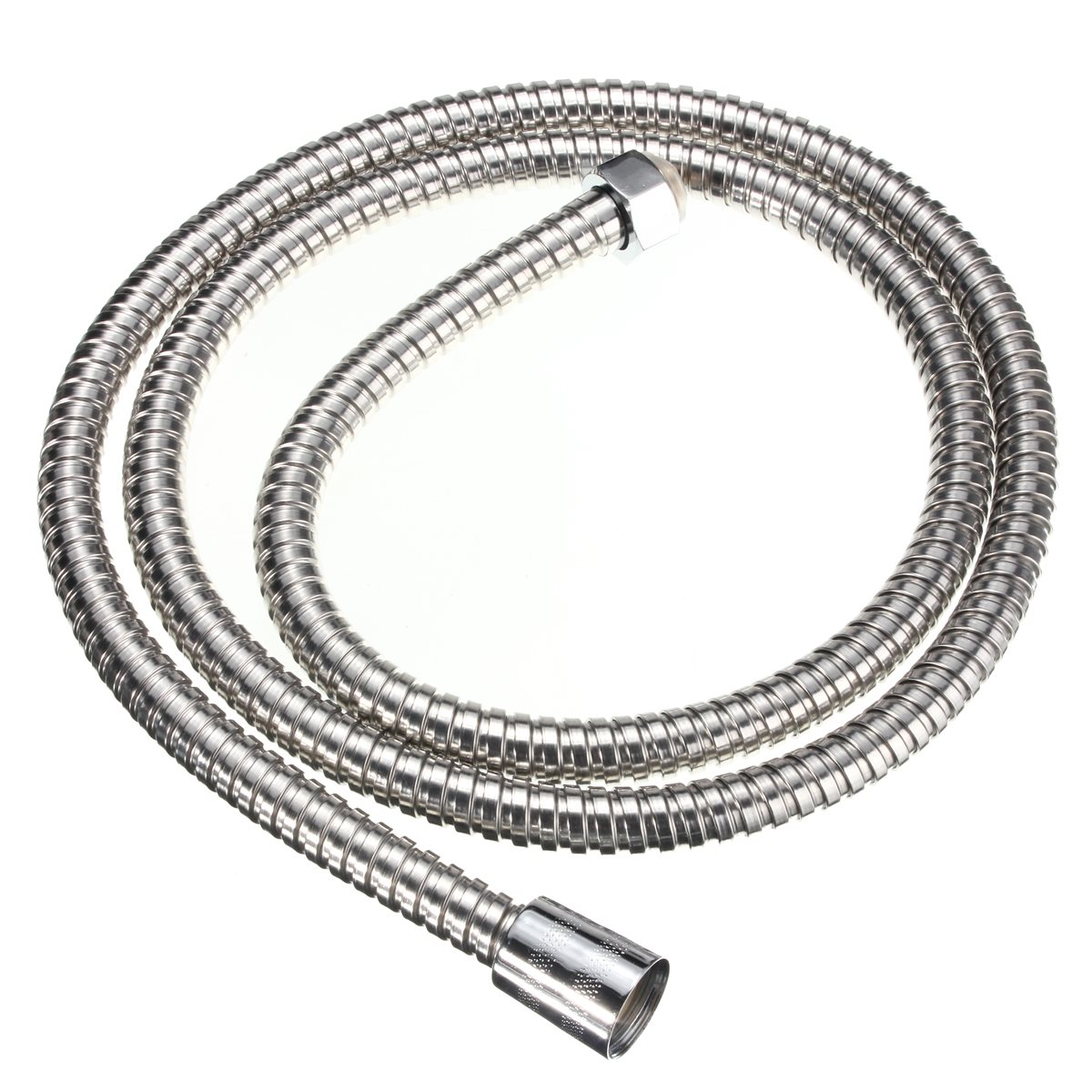 1.5m Plumbing Hoses Stainless Steel Bathroom Shower Head Hose Durable Bath Showerhead Water Pipe Tube Hose viborg top quality 60cm sus304 stainless steel flexible braided water supply hose for water heater connector pipe tube