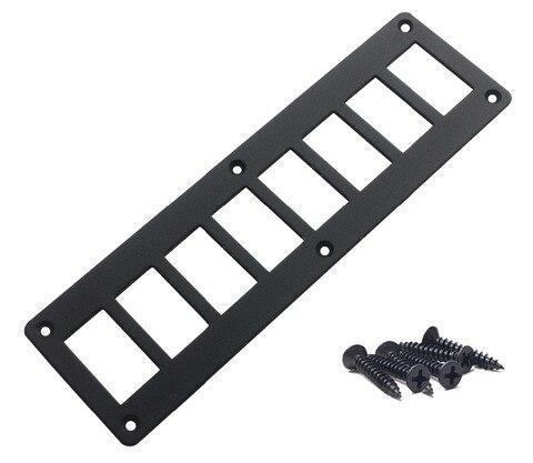 aluminio 8 way gang rocker switch rocker switch panel para arb carling narva monte habitacao