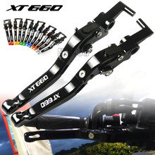 For Yamaha XT660/XT660X/XT660R/XT660Z 2004 - 2017 XT 660 X R Z Motorcycle CNC Aluminum Brake Clutch Levers Adjustable Folding