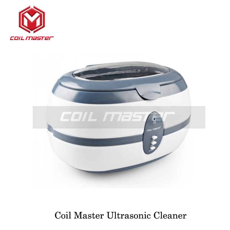 Authentic Coil Master Ultrasonic Cleaner For RTAs RDAs Sub-Ohm Tanks 110V Ultrasonic Cleaner Baskets For Ecig Devices Cleaner