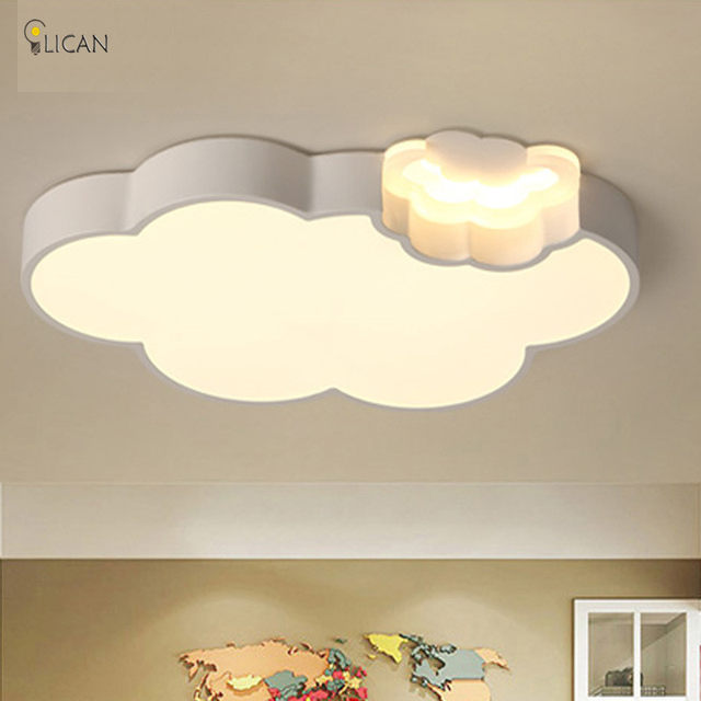 Online Shop LICAN LED Cloud kids room lighting children ceiling lamp ...