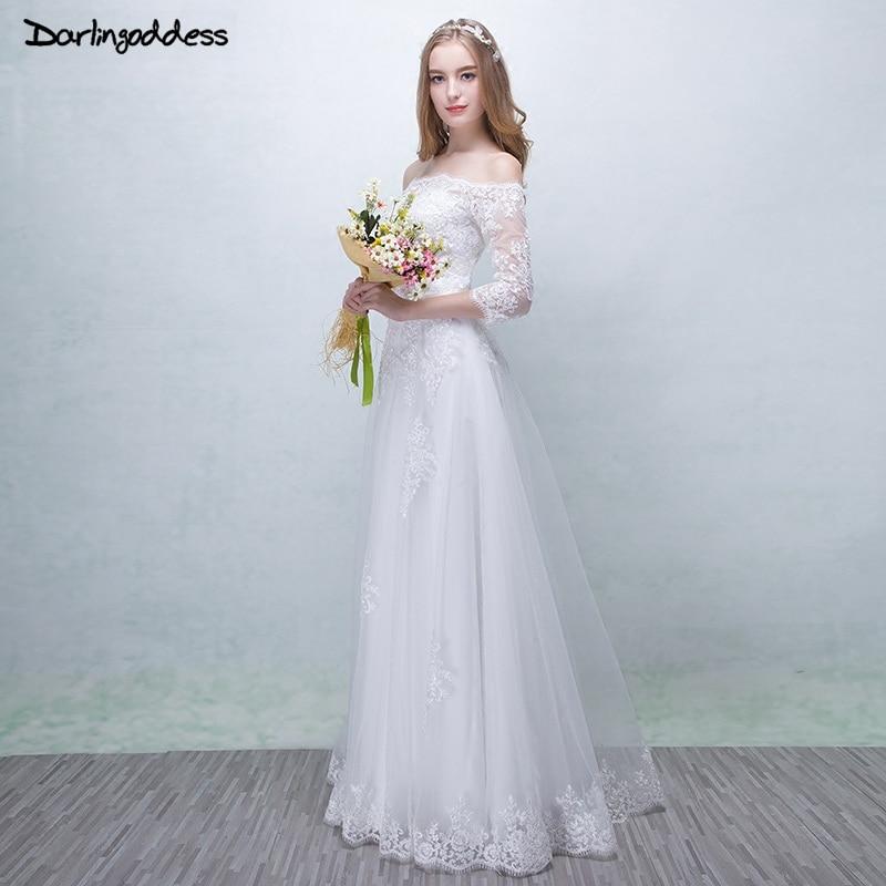 Robe De Mariage Vintage Lace Wedding Dresses Bohemian ... - photo #6