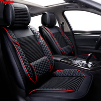 Yuzhe automobiles Universal Auto car seat cover For vw golf 4 5 VOLKSWAGEN polo 6r 9n passat b5 b6 b7 accessories seat protector