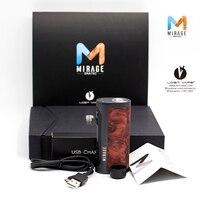 Новые Lost Vape Mirage DNA75C TC поле Mod электронная сигарета mod прошивки Поддержка до градуируемые fit 18650/20700/ 21700 аккумулятор