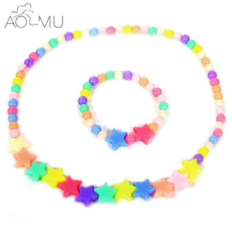 AOMU Mixed Style Baby Girls Jewelry Setss