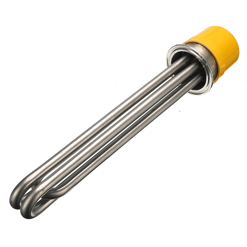 Thread Heating Pipe Replacement Water Heater Electrical Immersion Element Booster 3KW/4.5KW/6KW 380V