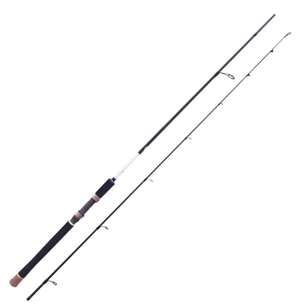 Top  2.44m Brave/Bass/Spinning/2.44m M FUJI Guides 97% Carbon Fiber Fishing Rod 6-25g Lure Weight M Fishing Tackle Lure Rod lure fishing rod brave lure rod spinning
