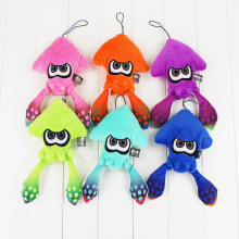 6 Colors 25cm Splatoon Inklings Squid Plush Toys Squid Inkling Stuffed Pendant Doll for Children
