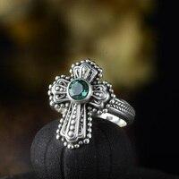 Guaranteed Ring Silver 925 Rings Cross Designer Jewelry Luxury Women Accessories Natural Crystal Fine Jewellery Bijoux
