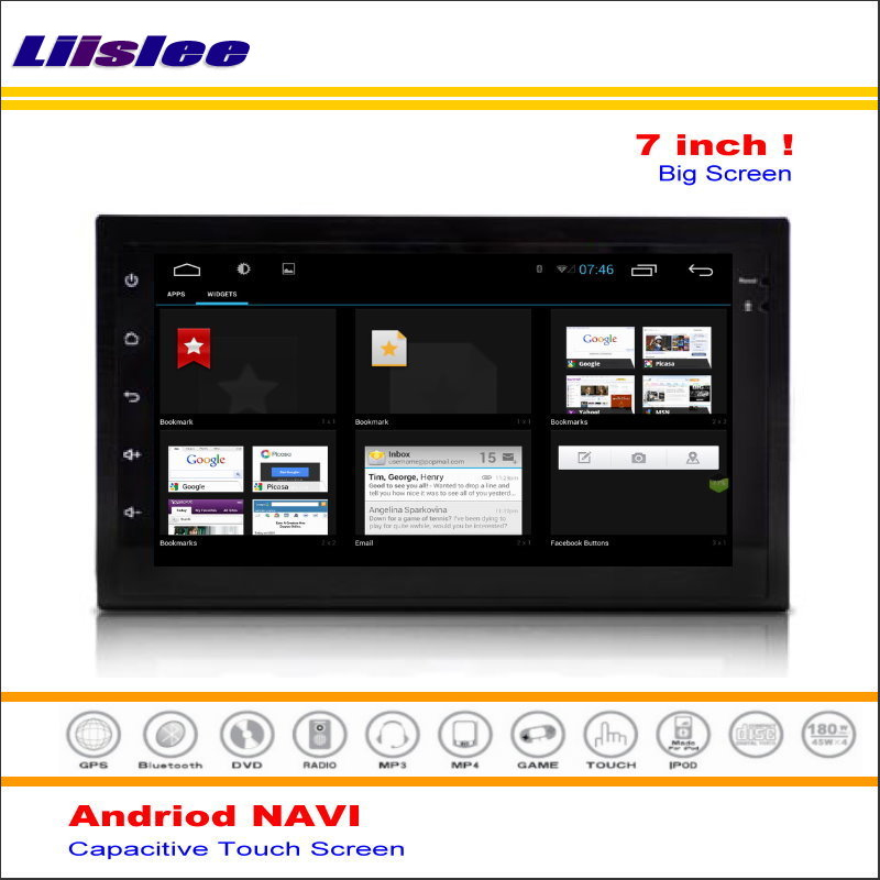 Top Liislee Car Android GPS NAVI Navigation System For Nissan Juke 2010~2013 Radio Audio Stereo Multimedia Video ( No DVD Player ) 1