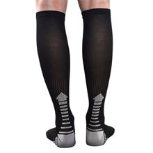 Men Leg Support Stretch Outdoor Sport Long Socks Knee High Stockings Compression Running Cycling Climbing Breathable