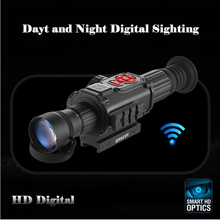 ZIYOUHU Digital Night Vision Riflescope Sights Day And Night Aiming Device Sighting Telescope Sniper Scope fot Hunting TN-680C стоимость