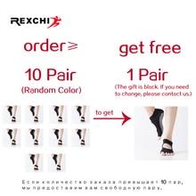 REXCHI 1 Pair Women Sports Yoga Socks Anti Slip for Lady Gym Fitness Pilates Sock Professional Sock Slippers Dance Protector