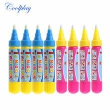 4 шт./компл. волшебная ручка для рисования водой/каракулей, маркер/Магия акварель ручка/Водная инструмент для замены развивающая игрушка для детей