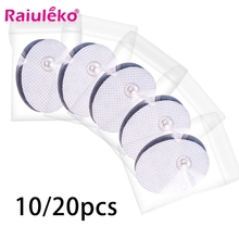Electrodes-Pads Massager Therapy-Machine Replacement Tens-Unit Sticky-Gel-Pads Acupuncture