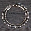 Wollet Ювелирные Изделия Энергии Исцеления Подарки для Мужчин Розового Золота Магнитные Ожерелья Гематит Твердой Германий Ожерелье Титана