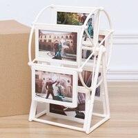 5 inch Assembly Ferris Wheel Photo Frame Picture Frame Creative Children Album Display Home Decor Wedding Photo Frame VQ0173