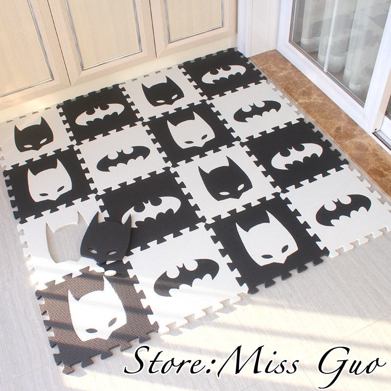 children soft development crawling carpets baby play puzzle number / letter /...