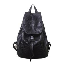 Новые дизайнерские PU кожаная сумка Высококачественная кожа Для женщин Рюкзаки Bolsos Mujer Школьный Рюкзак Для Обувь для девочек Дорожная сумка рюкзак
