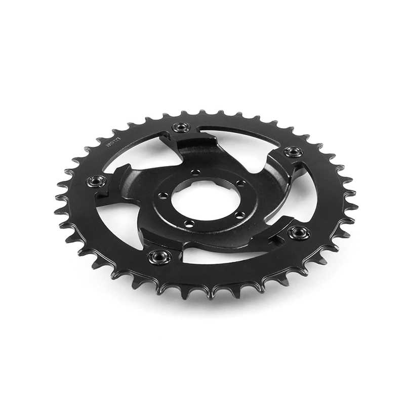 For Bafang 42T Chainwheel Crankset Chain Ring Replacement BBSHD 6061 SPCC