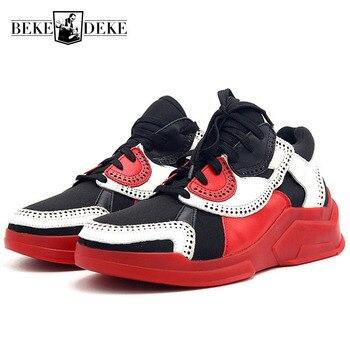 Мужские кроссовки для путешествий и тенниса для взрослых, классические, подходящие цвета, на толстой подошве, с крылышками, Мужская обувь из