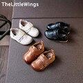 2017 весной новый натуральная кожа shoes мальчики мокасины вскользь платья Ленивый Плоским малыша shoes Корейской версии Британского стиля