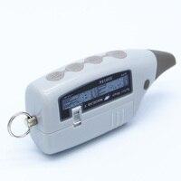 Cadena de Llavero de Control Remoto de DOS VÍAS LCD Versión Rusa de 2 Vías Sistema de Alarma de Coche Scher Khan M5 scher-khan Magicar 5