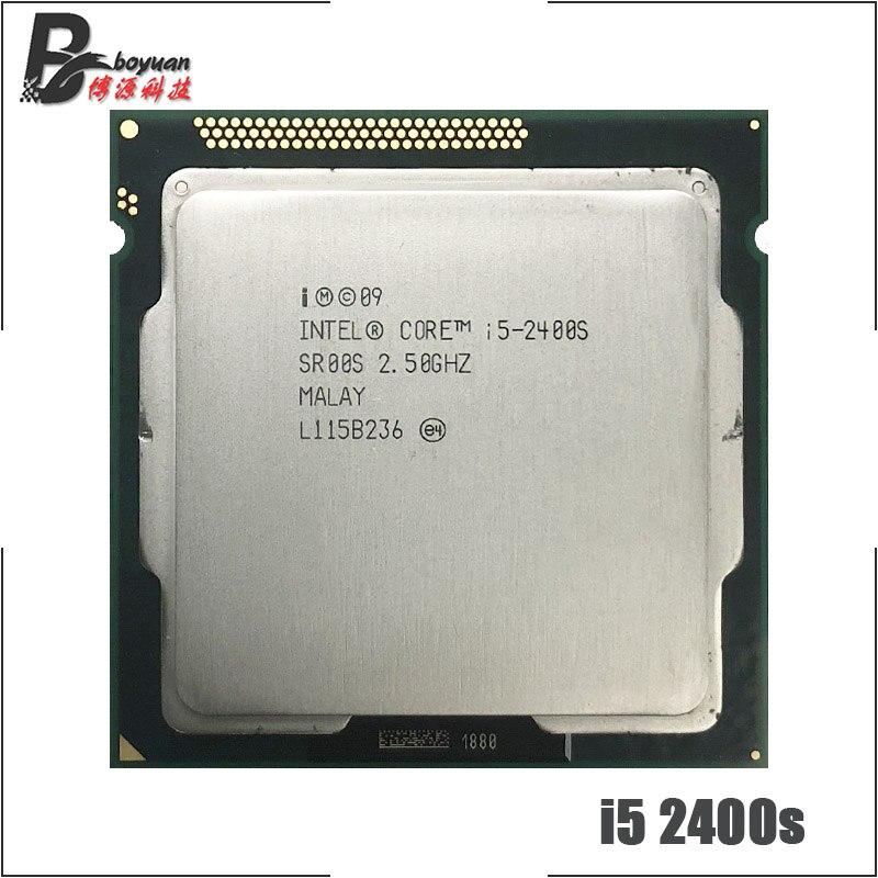Четырехъядерный процессор Intel Core 1155 i5 2400S 2,5 ГГц, Процессор 6M 65W LGA