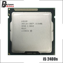 Intel Core i5-2400S i5 2400 S 2,5 GHz Quad-Core CPU Prozessor 6 M 65 W LGA 1155