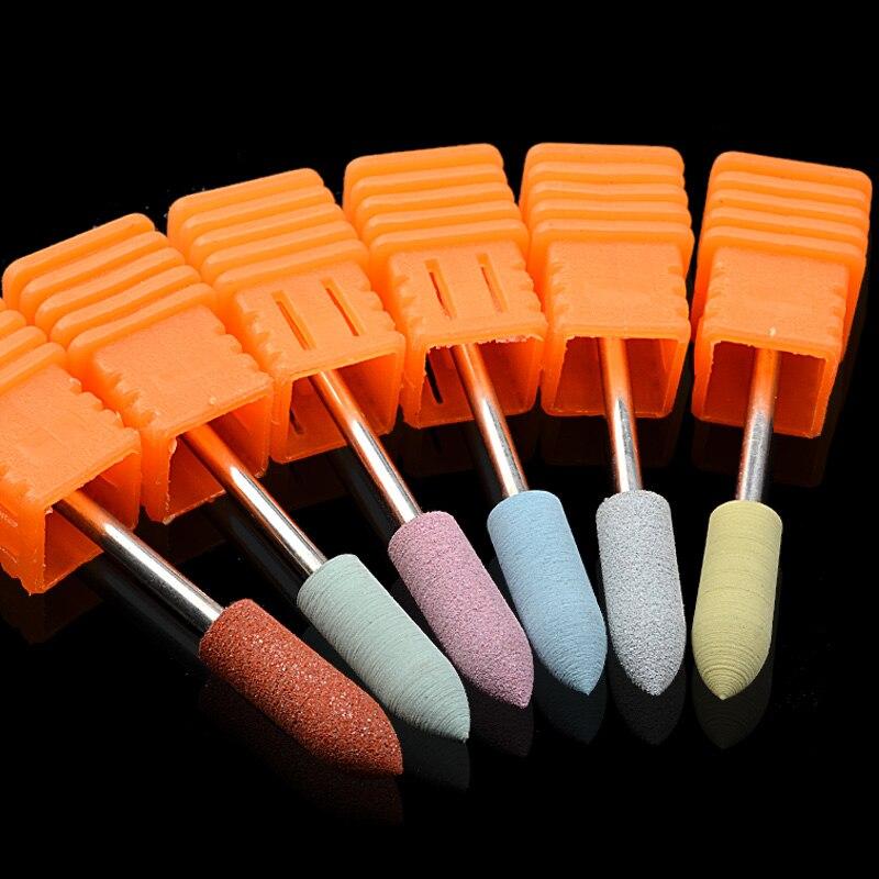 Фрезы для обработки и полировки ногтей, 1 шт.|Электрические маникюрные дрели| | АлиЭкспресс