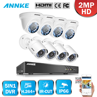 ANNKE 8CH 1080P Security DVR Recorder 8x HD 1920TVL 2 0MP 1080P HD TVI Surveillance Cameras