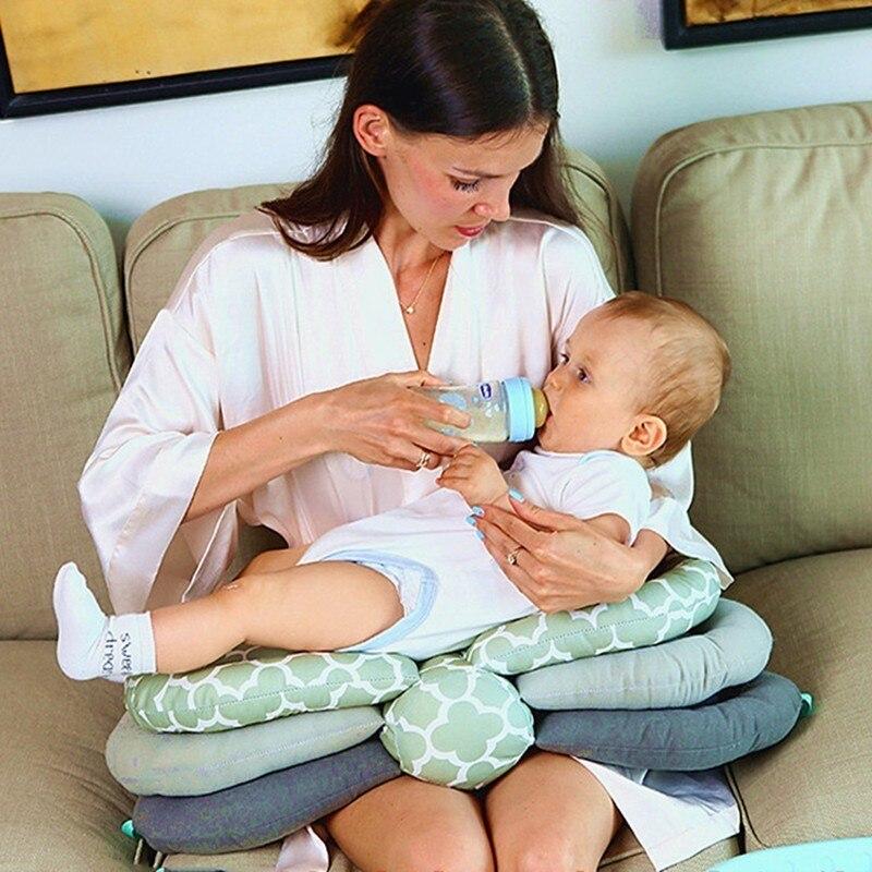 Multifunction Nursing Breastfeeding Head Protection Adjustable Model Cushion Infant Feeding Pillow Newborn Baby Care -35