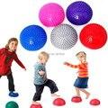 Йога фитнес-мяч массаж полушаровой стабильность гимнастические упражнения йога / фитнес пилатес мяч вес мяч 250 кг анти-burst