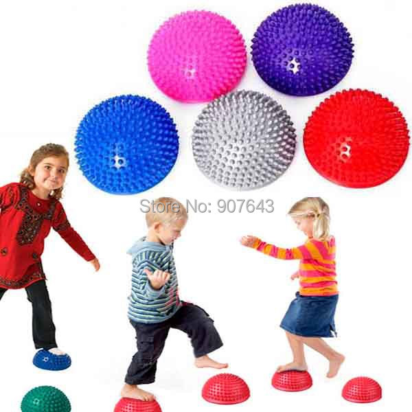 Foot Massage & Relaxation foot care tool Half Ball Stability Gymnastic Exercise Yoga/Gym Fitness Pilates Ball Yoga Fitness Ball