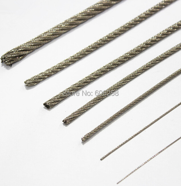 Stainless Steel Wire Rope / Fishing Rope / Extra fine wire / Mold ...