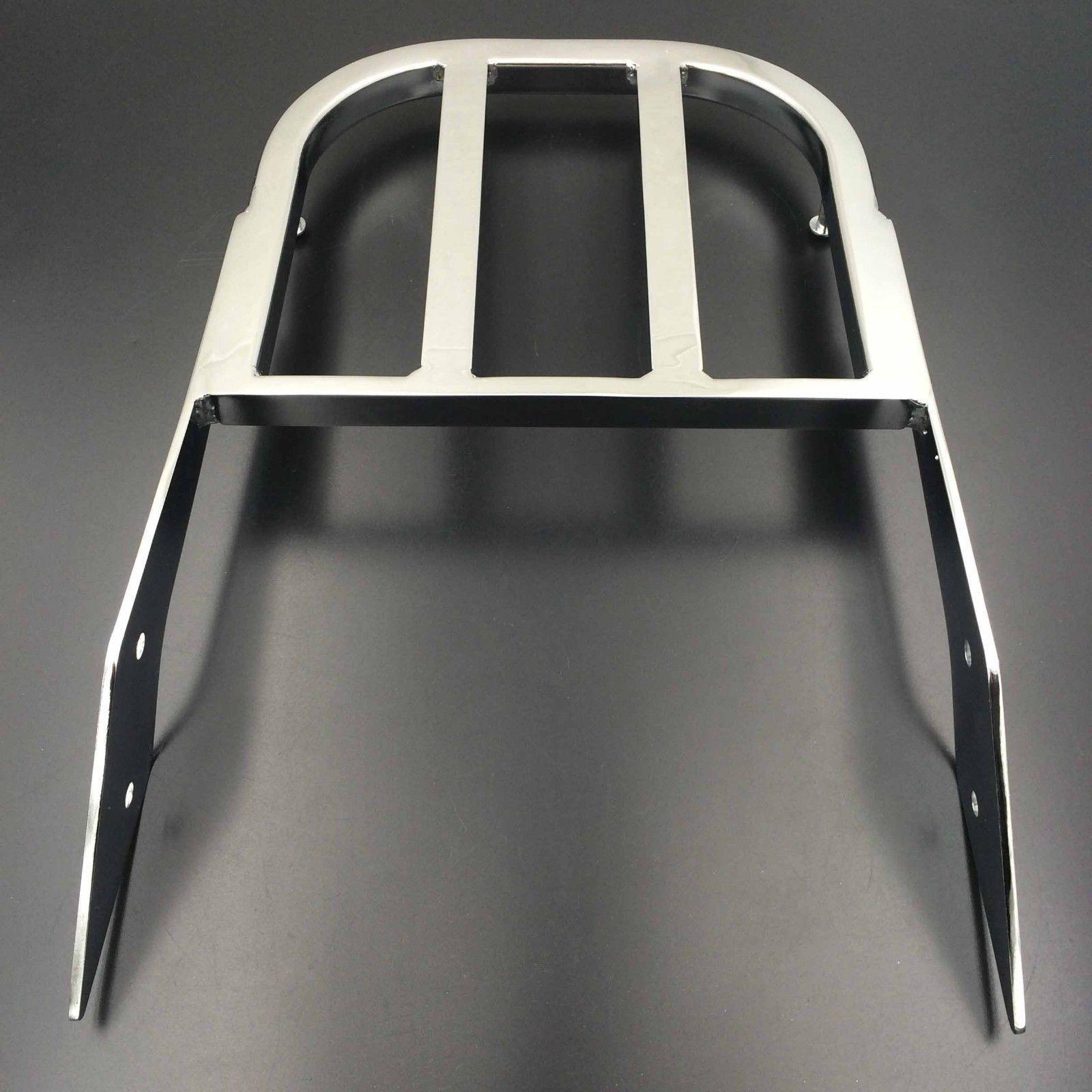 Хром Сисси бар багажная сетка для 03-06 Хонда VTX 1300 VTX 1800 2002-2008 Н Н
