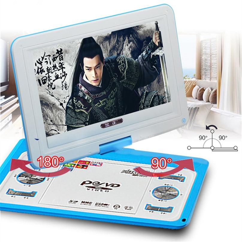HD veliki ekran 14-inčni video DVD player Prijenosni DVD Podrška - Kućni audio i video - Foto 5