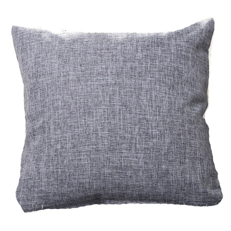 Solid Linen/Cotton Sofa Car Cushion Cover 40*40/45*45/50*30/50*50/55*55m Throw Pillowcase Office Home Decor <font><b>Pillow</b></font> <font><b>Case</b></font> Cojines image